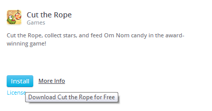 Installing Cut the Rope on Pokki on Outdated Penang Uncle blogspot dot com