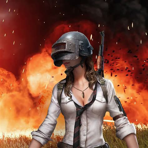pubg girl playerunknowns battlegrounds   wallpaper