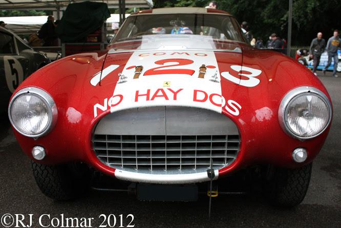 Ferrari 250 MM, Goodwood Festival of Speed