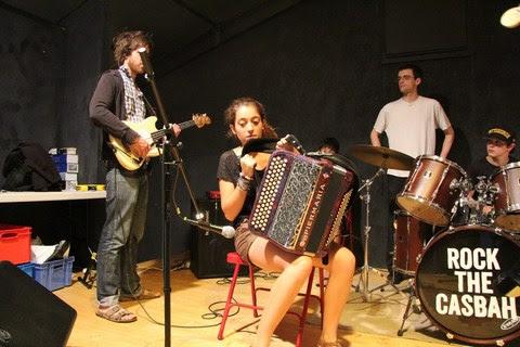 Activité musique à la colo musique et cinéma Rock The Casbah