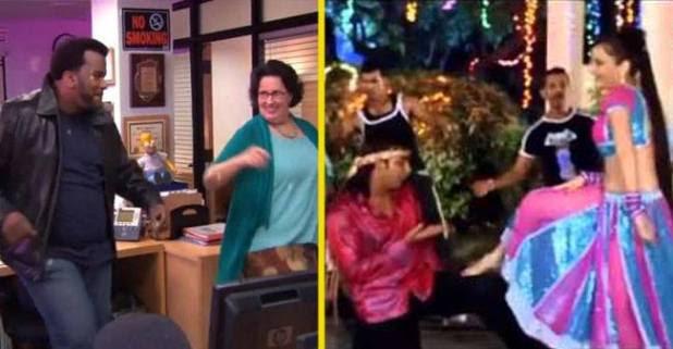 The whole cast of an American sitcom danced on the Bhojpuri song 'lagawelu jab lipistic'