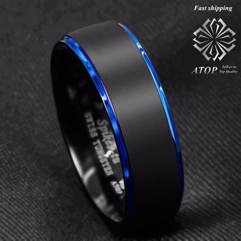 Aliexpress.com : Buy 8mm Tungsten Carbide Ring Black