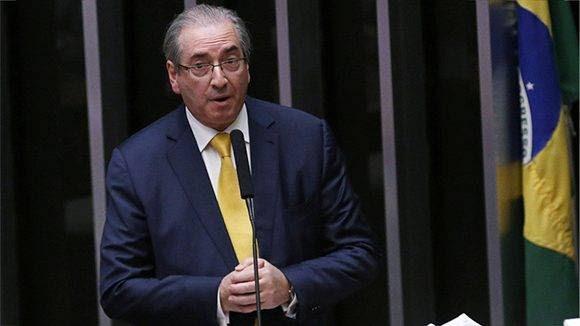 Eduardo Cunha, durante una sesión del Parlamento en Brasilia el 12 de septiembre de 2016. Foto: Reuters/ Adriano Machado
