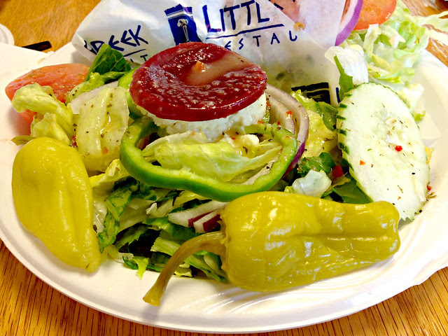 greek salad little greek