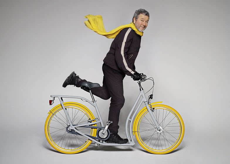 Pibal bicycle by Philippe Starck and Peugeot