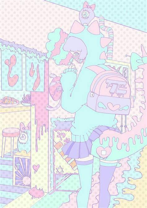 pin  liu  pastel   kawaii art pastel art