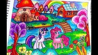 Download Cara Menggambar Dan Mewarnai My Little Pony Dengan Gradasi