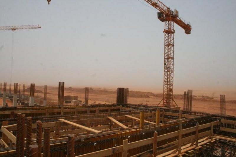 Construction of Dakar Senegal's New Airport