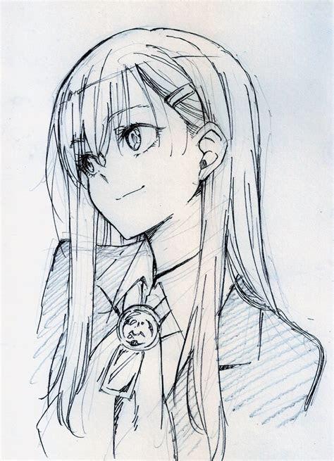 drawn artwork anime pencil   color drawn artwork anime