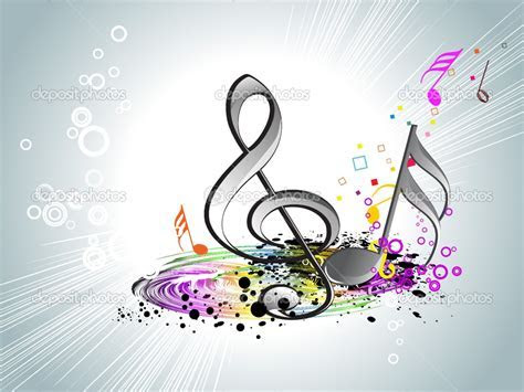 Colorful Music Notes Wallpapers HD   I HD Images
