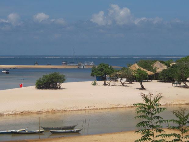 alter do chao, paraíso de tapajós que a população diz que tem que ter mais investimentos (Foto: Tahiane Stochero/G1)