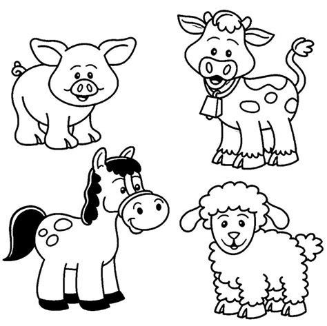 farm coloring pages ideas  pinterest