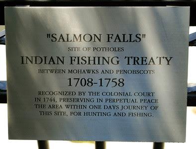 Salmon Falls Sign