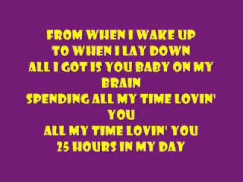 Aaron Fresh Spending All My Time Loving You Lyrics