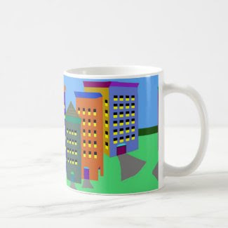 City Art on Classic Coffee Mug