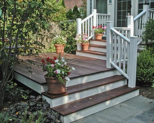 Small Front Deck Home Design Ideas, Renovations & Photos