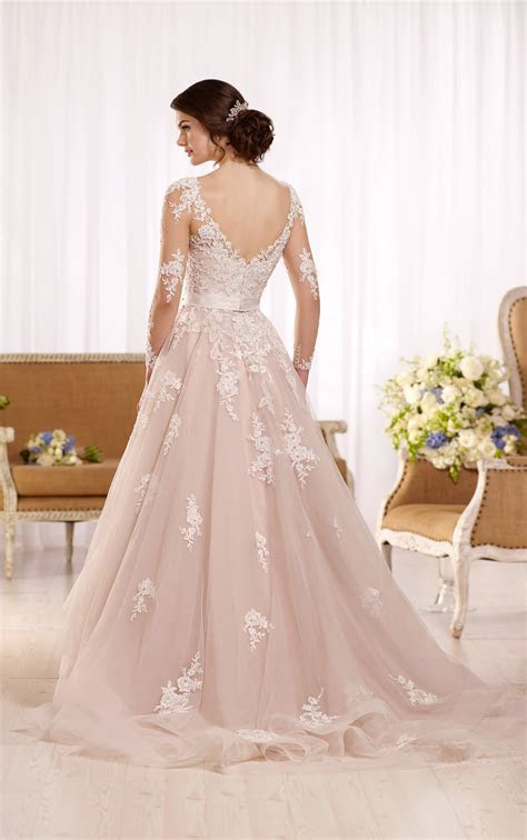 Plus Size Wedding Dress with Long Sleeves   Essense of