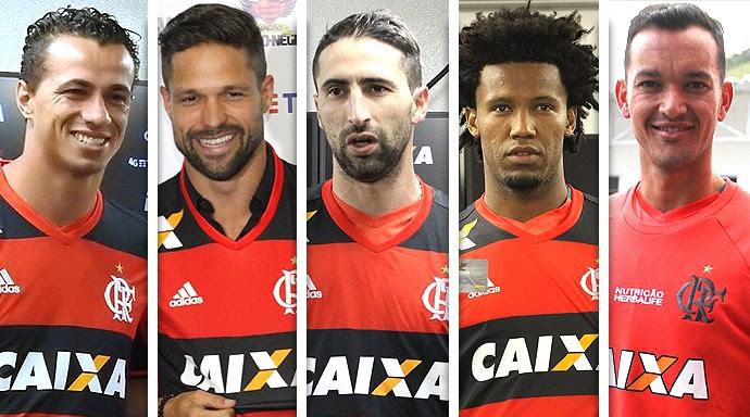 Montagem aumento da folha salarial do Flamengo (Foto: Editoria de Arte)