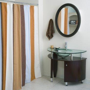 Thompson Stripe Shower Curtain - Shower Curtains at Shower ...