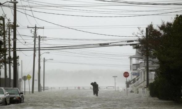 Ένας νεκρός και δύο αγνοούμενοι μετά τις πλημμύρες στο Μέριλαντ