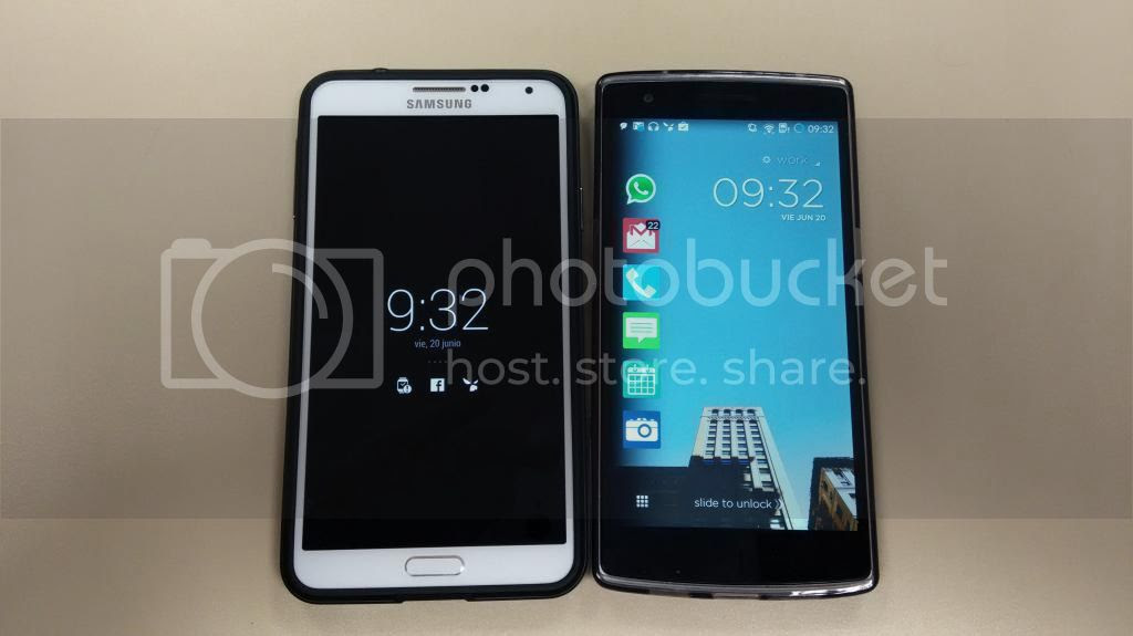 Note 3 vs One Plus photo Comparativatamantildeos_zps7fc04c96.jpg