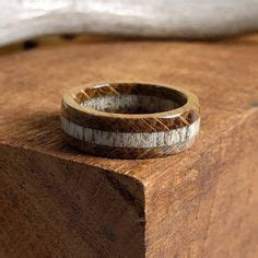 black wood grain silicone wedding band handcrafted
