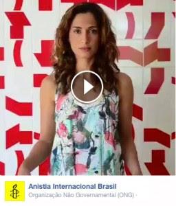 #JovemNegroVivo A Camila Pitanga se importa – Anistia Internacional
