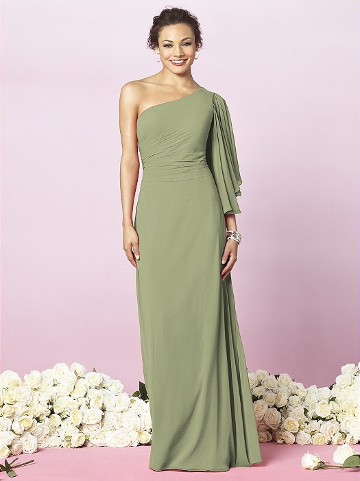 Kiwi color - Bridesmaid dresses