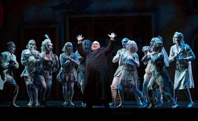 The Addams Family A New Musical Comedy Hits Singapore at the Resorts World Sentosa.10
