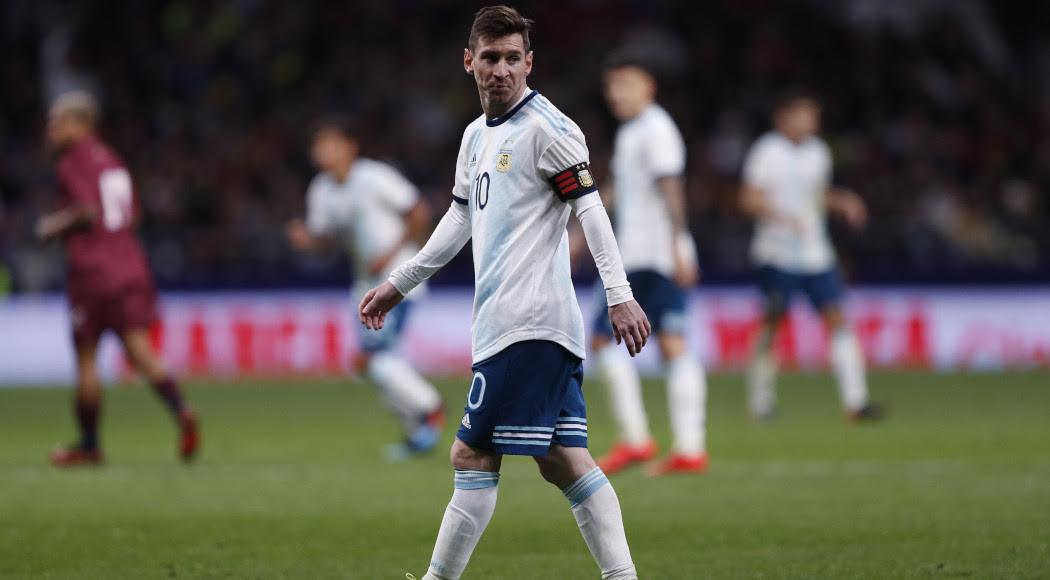 Messi returns after ban for Brazil, Uruguay friendlies