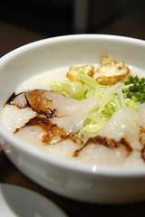 白身魚の刺身粥, 粥麺茶房, 新宿三越