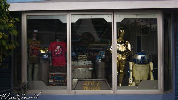 Disneyland Resort, Disneyland, Star, Trader, Star, Wars, Window, Display
