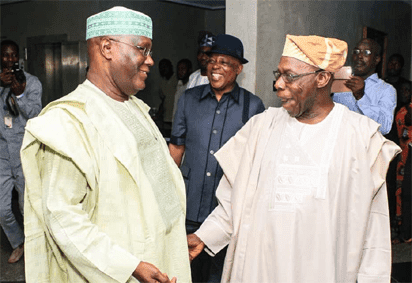 Image result for images of Atiku confirms the N50m traced to Obasanjo Presidential Library by EFCC