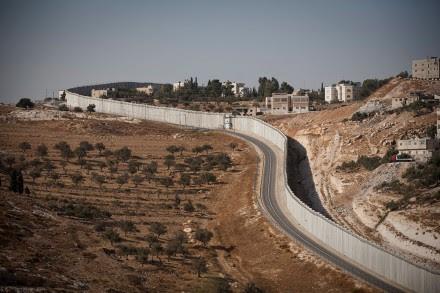 El muro que separa Israel de Palestina. Foto: Alejandro Saldívar