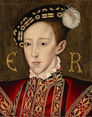 Portrait of Edward VI of England