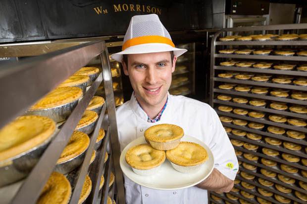 Meet Morrisons pie taster | Daily Star