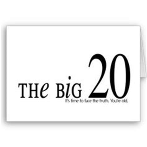 Funny Quotes About Turning 20
