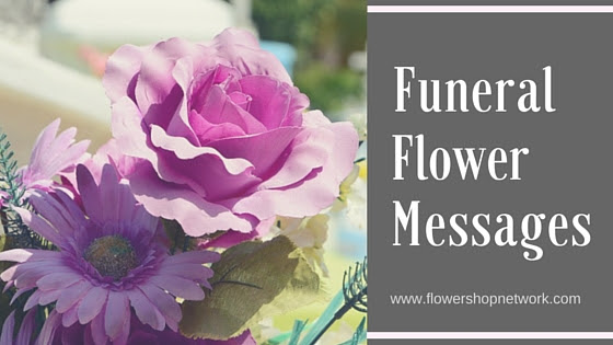 Funeral Flower Messages