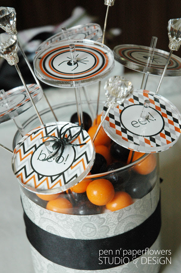 Halloween Centerpiece2820