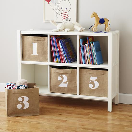 How to Use Number Storage Bins to Organize Kids Toys