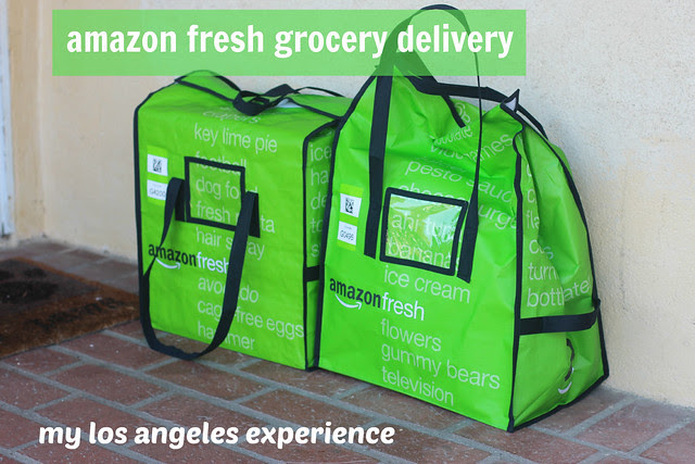 Amazon Fresh Los Angeles Home Delivered Groceries Experience