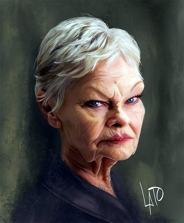Portrait Caricatures Of Famous Peoples (32)