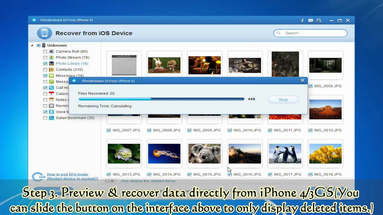 How to Retrieve Data from a Broken iPhone  YouTube