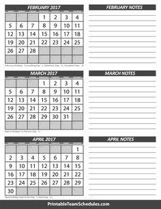 Calendar March 2017 And April 2017 | 2017 calendars