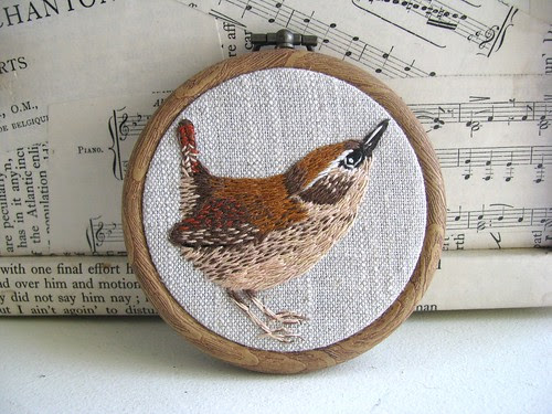 Embroidered Wren