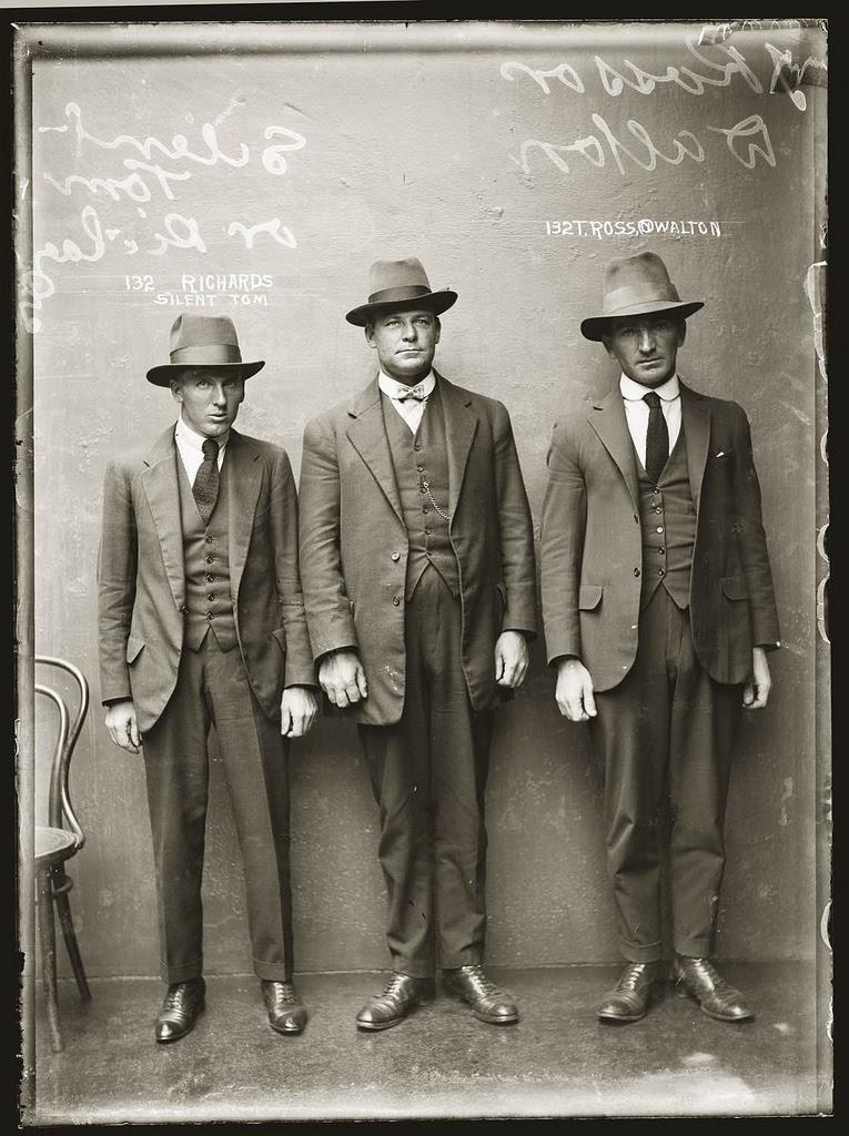 photo police sydney australie mugshot 1920 43 Portraits de criminels australiens dans les années 1920  photo photographie histoire featured art