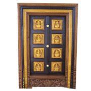 Entrance Door Carved Entrance Door Exporter From Bengaluru