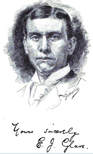 Author and explorer E.J. Glave