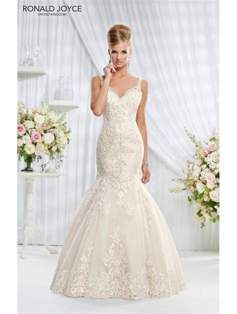 Ronald Joyce 69009 Erin Lace Fit and Flare Wedding Dress