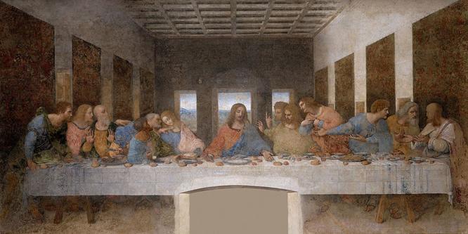 A Última Ceia - Leonardo Da Vinci - Alta Resolução 32x16.jpg